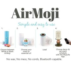 MojiLife introduces the latest in home fragrance infusion. Flameless, wickless, waxless, fragrance devices for home and office. Join me!