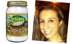 homemade hair moisturizer (*using coconut oil)