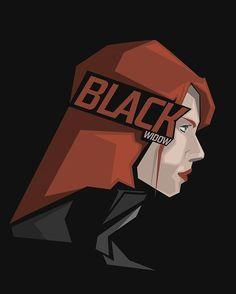 Black Widow #popheadshots