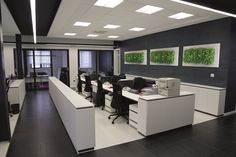 Modern Partition Designers in Hyderabad Office Fit Out, Small Office, Office Spaces, Green Office, Office Walls, Office Interior Design, Office Interiors, Design Interiors, Interior Modern