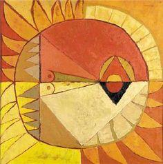 Oswaldo Guayasamín - El sol - Arte Ecuador - Informacion de la Obra
