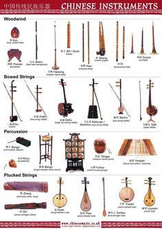 Chinese instruments - Confira aqui http://mundodemusicas.com/lojas-instrumentos/ as melhores lojas online de Instrumentos Musicais.