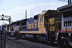 Santa Fe B40-8 No. 7447 At Hobart