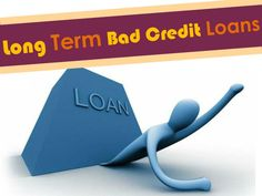 The long term bad credit loans have been proved to acquire a great fiscal support to the bad creditors who are having evil credit rating. This will assist them to pay off their past debts on the time by which their bad credit rating can be rectified. Learn more details about visit at:  http://www.longtermbadcreditloan.com