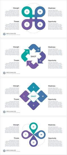 FREE SWOT analysis for Keynote Download link: https://hislide.io/product/swot-analysis-free-keynote-template/ #marketing #swot #analysis #infographic #keynote #violet