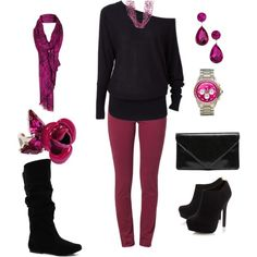 """""""Girl's Night"""" by carolyn1984 on Polyvore"""