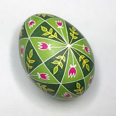 observation: takes a lot longer to melt wax off a full egg than off an empty one! #pysanky #pysanka