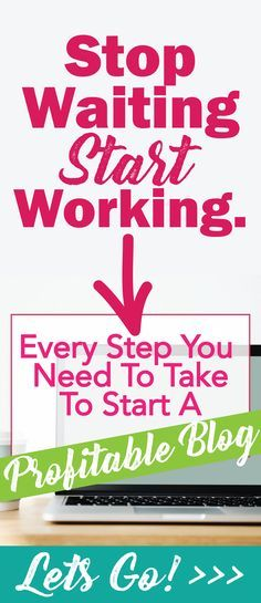 How to start a blog and make money from home, a comprehensive guide for complete beginners.