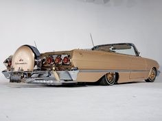 Champagne Colored Chevy Impala