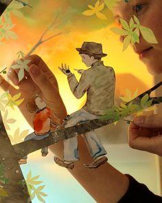 Whimsical 3D Papercraft Scenes - My Modern Metropolis