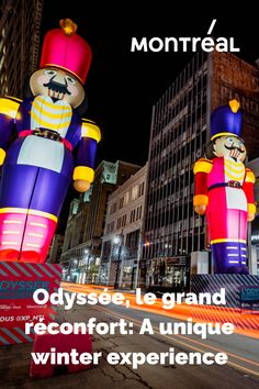 Despite the many challenges we're facing this year, we can still experience a little holiday magic! XP_MTL launched their new initiative, Odyssée, le grand réconfort, to make downtown Montréal shine, in every sense of the word. Explore the giant installations adorning our beloved Sainte-Catherine Street and get into the spirit of the season!