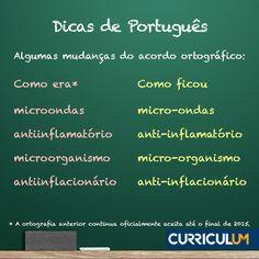 Atualize seu currículo com a nova ortografia. Faça uma Análise ou Revisão de Currículo.