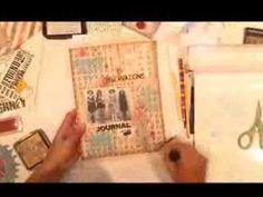 ▶ Altered Journal Vintage Blog Hop - YouTube
