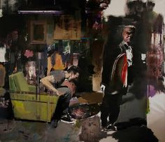 Adrian Ghenie, The Devil, 2010, oil on canvas, 205 x 230 cm © Galeria Plan B