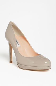 'Sledge' Pump LK bennet but in nude. The MOST comfortable heels ever created. LV take not please.