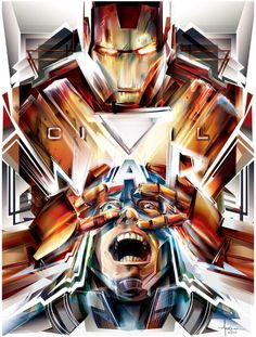 "#Iron #Man #Fan #Art. (""CIVIL WAR"") By: Orlando Arocena. (THE * 5 * STÅR * ÅWARD * OF: * AW YEAH, IT'S MAJOR ÅWESOMENESS!!!™)[THANK Ü 4 PINNING!!!<·><]<©>ÅÅÅ+(OB4E)"