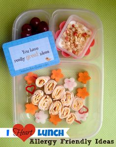 i heart lunch allergy friendly lunch ideas by keeleymcguire.com