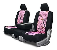 Custom Seat Covers for Chevy Silverado Rear Bench Seat - Snowfall Pink Neo-Camo Best Seat Covers, Custom Fit Seat Covers, Golf Cart Seat Covers, Truck Seat Covers, Leather Car Seat Covers, Dodge Ram Logo, Jeep Sport, Dodge Rams, Jeep Compass