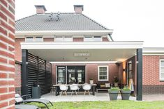 1 Netherlands, Beautiful Homes, Pergola, New Homes, Patio, Mansions, House Styles, Outdoor Decor, Home Decor