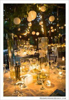i love this wedding reception set up
