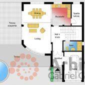 Luxury Villa Inspired From Macedonia – Amazing Architecture Magazine Village House Design, Country House Design, Duplex House Design, Dream Home Design, Home Design Plans, Modern House Design, House Layout Plans, House Plans One Story, House Layouts