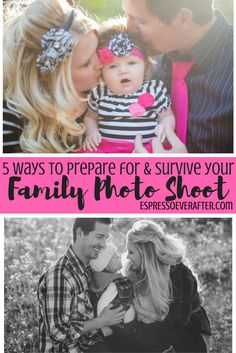 5 Ways To Prepare For & Survive Your Family Photo Shoot - photo shoot ideas - photo shoot tips and tricks - how to