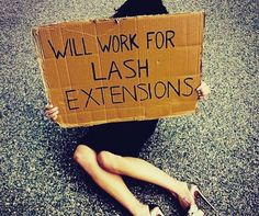 This will be me, begging for lash extentions! Best Lashes, Fake Lashes, Mink Eyelashes, How To Draw Eyelashes, Eyelashes Grow, Eyelash Extensions Salons, Lash Lounge, Lash Quotes, Lash Room
