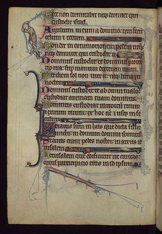 Book of Hours, A scribal error corrected, Walters Manuscript W.102, fol. 39v by Walters Art Museum Illuminated Manuscripts, via Flickr