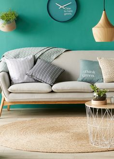 Gossa   Bout de canapé en métal blanc - Alinéa