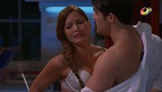 Isabel y Renzo le tienden una trampa a Ángela para que Juan Marcos la descubra en ropa interior con el guardaespaldas y sea corrida de la casa