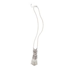 Stitch Fix New Arrivals: Long Silver Tassel Necklace