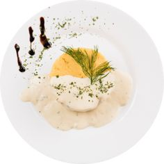 Un restaurant care te surprinde mereu cu preparatele sale: Colieri Panna Cotta, Gluten, Yummy Food, Cooking, Ethnic Recipes, Romania, Restaurant, Kitchen, Dulce De Leche