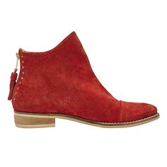 - PAYTON IN RED SUEDE BY MATISSE