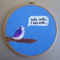 """""""butts, butts, I love butts."""" Or express your interests. 