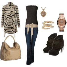 cute outfit minus the sweater