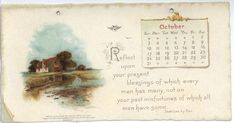 DICKENS CALENDAR FOR 1897. ..♥..Nims..♥