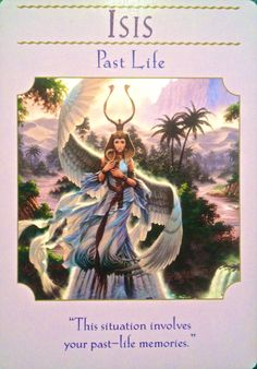Goddess Isis ~ Past Life | Archangel Oracle ~ Divine Guidance