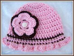 Crochet Baby Hat Crochet Newborn Hat by crochethatsbyjoyce on Etsy, $14.00