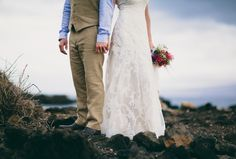 The couple and their guests enjoyed breathtaking views, perfect weather and aloha hospitality.