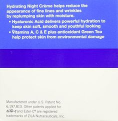 derma e Hyaluronic Acid Night Crème, 2-Ounces - http://best-anti-aging-products.co.uk/product/derma-e-hyaluronic-acid-night-creme-2-ounces/