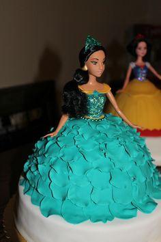 Disney Princess Jasmine cake