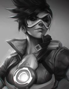 Quick Tracer.  by Artgerm.deviantart.com on @DeviantArt