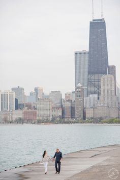 North Ave Beach skyline, Chicago Skyline