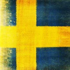 Swedish flag // Swede Cottage Farm //