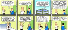 Dilbert comic strip for 11/18/2012 from the official Dilbert comic strips archive.