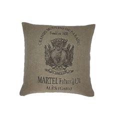 Martel Frères & Cie  Grands Moulins de Paradis Pillow by AtelierBe