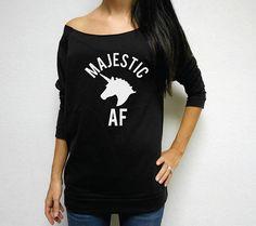 aafe46a2c1ec5a Funny Unicorn Sweatshirt. Unicorn Funny Unicorn