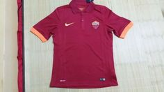 Thailand Quality A.S. Roma Home Football Shirts 2014/15