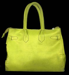 #chicunderground #sophie #citrus #green #lime #summer #birkin #hermes #handbag #bag #eco #bright #colors #recycling #plastic #bottles #sustainable #fun #fashion #beauty #affordable