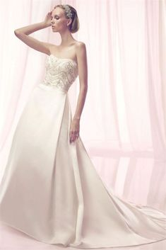 True bridal beauty starts here with these Casablanca wedding dresses. This collection is full of unique hand-beaded designs and exquisite laces. Wedding Bridesmaid Dresses, Wedding Dress Styles, Designer Wedding Dresses, Wedding Gowns, Casablanca Bridal Gowns, Pnina Tornai, Mod Wedding, One Shoulder Wedding Dress, Couture Bridal